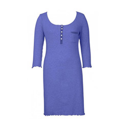 Blue Pointelle Nightie