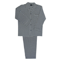 Black Check Flannel Pjs