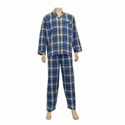 Burgundy Check Flannel Pjs