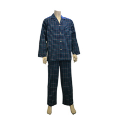 Navy/Green Flannel Pjs