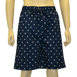 Compass Print Sleep Shorts