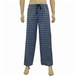 White Check Flannel Pant