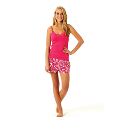 Pink Hope Tulip Short Pjs