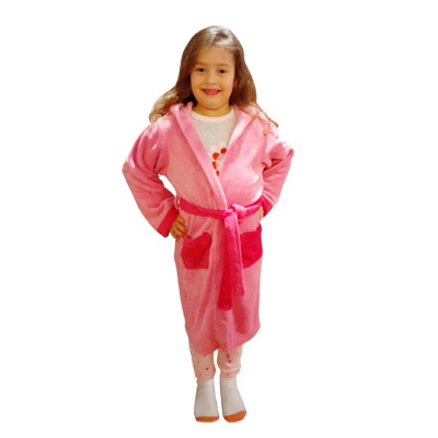 Pink on Pink Robe