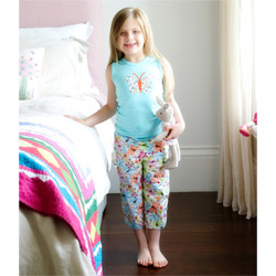 Summer Butterfly Girls Pyjamas for Kids and Toddlers