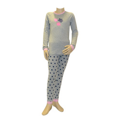 Grey Autumn Leaves Pjs