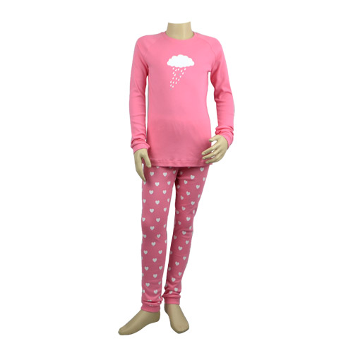 Hot Pink Raincloud Pj Set