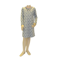 Navy Spot Nightie