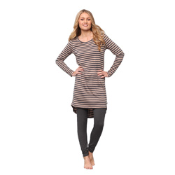 Shadow Striped Dress and Leggings