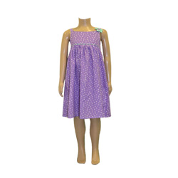 Purple Spot Summer Nightie