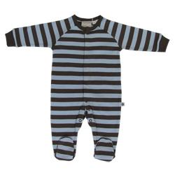511db73781 Brown Stripe Sleepsuit