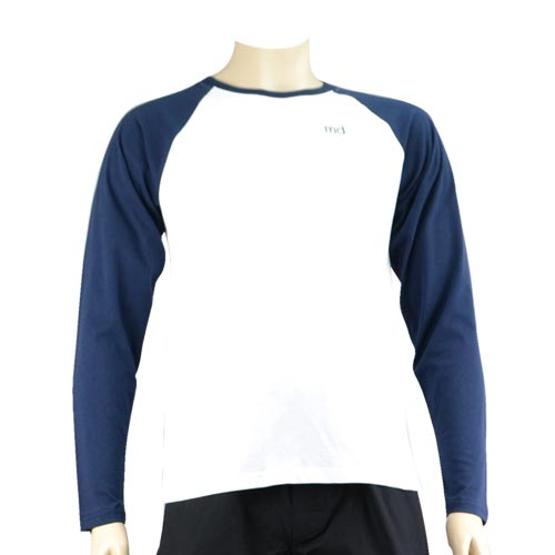 Navy Baseball Long Tee