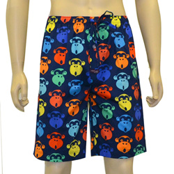 Pop Monkey Sleep Shorts
