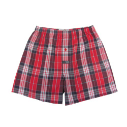 Red Check Boxers