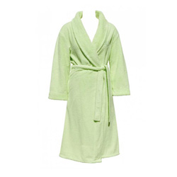 Lime Fleece Robe