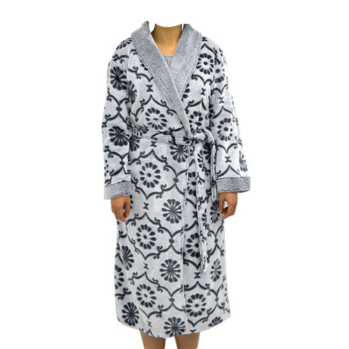 Midnight Embossed Robe