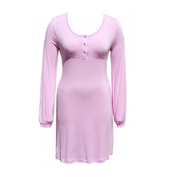 Pink Henley Nightie