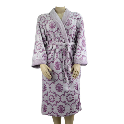 Rose Embossed Robe