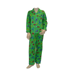 Monsters Flannel Pjs