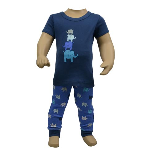 Elephant Family Pj Set
