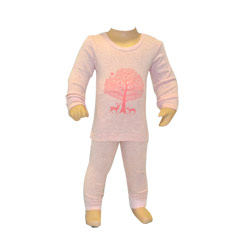 Winter Woods Pink Pjs