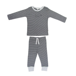 Ebony Stripe Pjs