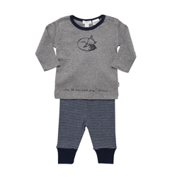 Grey Fox Print Pjs