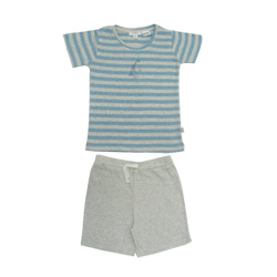 Penguin Striped Top Pjs