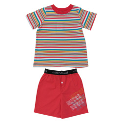 Red Stripe Pj Set