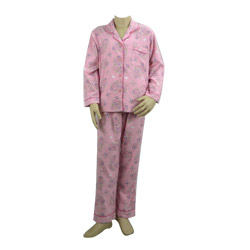 Flowers Flannel Pjs