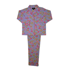 Blossoms Flannel Pjs