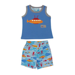 Sea Life Tank Top Pj Set